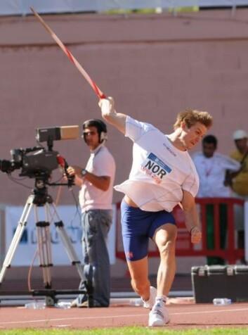 Andreas Thorkildsen er et av våre OL-håp. (Foto: Erik van Leeuwen/ Wikimedia Commons)