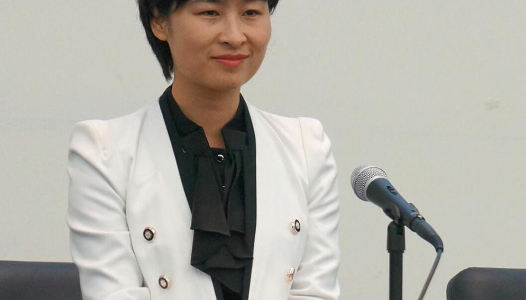 Den kinesiske taikonauten Liu Yang Arnfinn Christensen