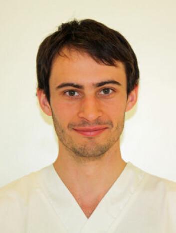 Forsker Gareth Greggains ved Oslo universitetssykehus. (Foto: Privat)