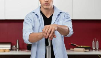 Unge menn farligst på kjøkkenet