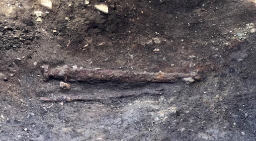 Venstrehendt viking gravlagt i Trøndelag?