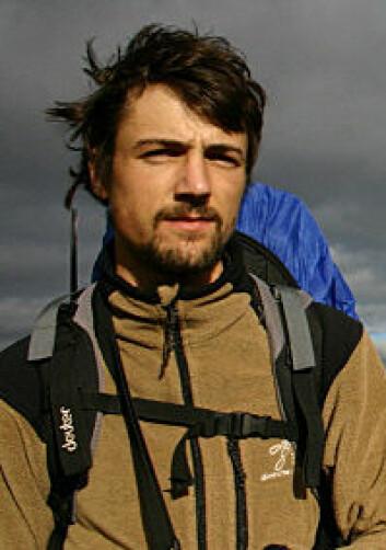 Sam Steyaert. (Foto: Det skandinaviske bjørneprosjektet)