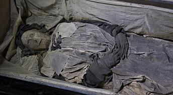Lungene til denne 300 år gamle svenske mumien gir svar på hvor lenge tuberkulose har rammet oss