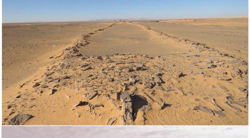 7000 år gamle byggverk oppdaget midt i ørkenen i Saudi-Arabia