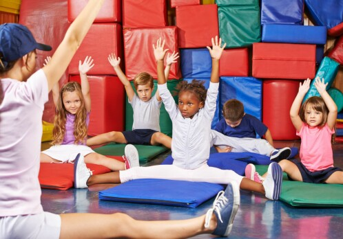 PE classes mostly for pupils who are good at sports