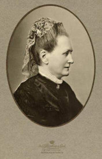 Camilla Collett 1863/1867. (Foto: Nasjonalbiblioteket)