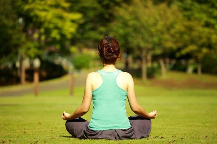 Meditasjon og mindfulness er en populær måte å redusere stress på. Men hva skjer egentlig i hjernen når vi mediterer? (Foto: carla9, Microstock)