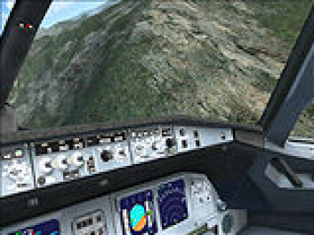"""""""Skjermbilde fra Microsoft Flight Simulator X"""""""