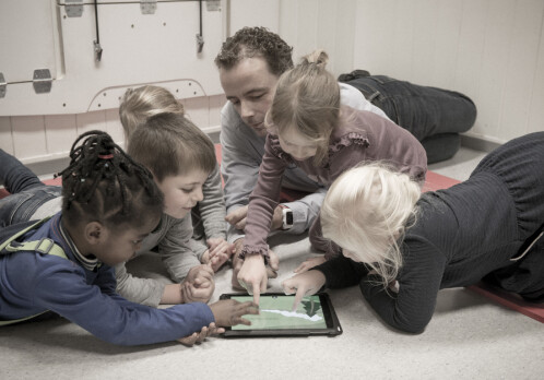 Children and kindergarten teachers use digital picture books differently