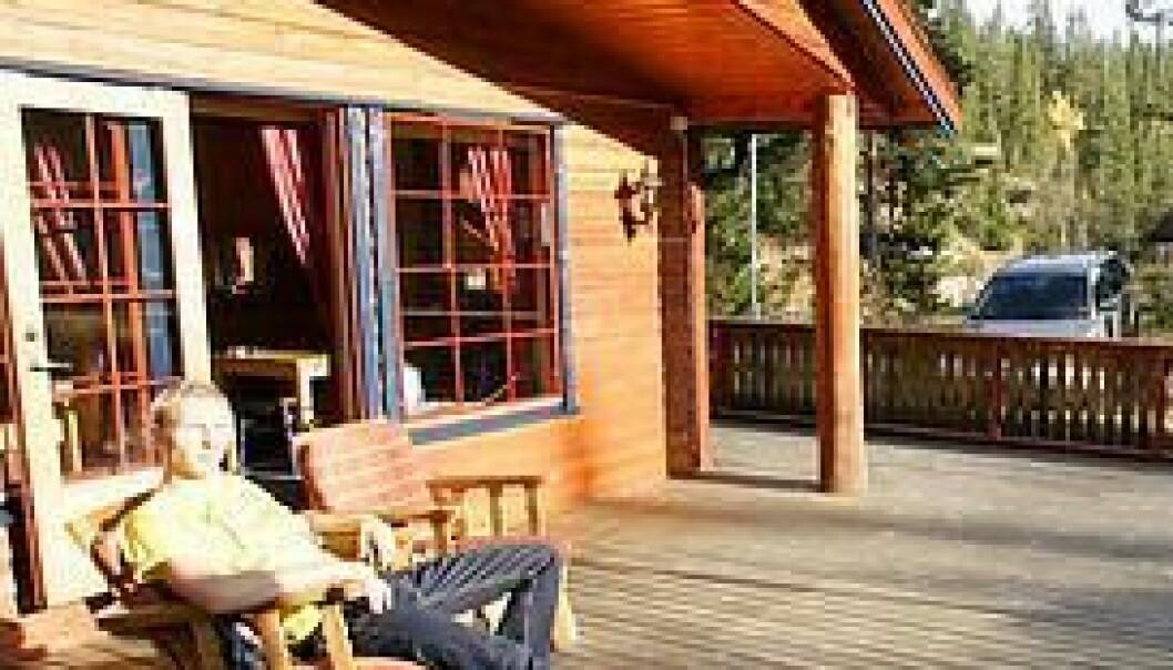 Norge finnes på hytta