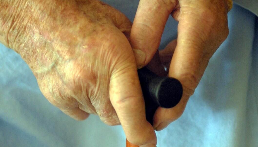 Eldre på lykkepiller får oftere hoftebrudd