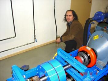 """""""Petter Grubyi, leder av firmaet Clavis Impulse Technology AS."""""""