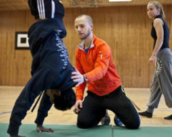 Elevene er ikke klar over lærernes intensjoner for kroppsøvingsfaget. (Foto: Birgitte Heneide)