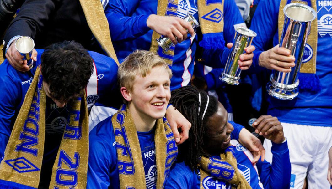 Mens Molde FK kunne juble over NM-tittel i fjor etter to strake seriemesterskap, kan Molde-regionen juble over ringvirkningene, ifølge et nytt forskningsnotat. Vegard Grøtt, NTB Scanpix