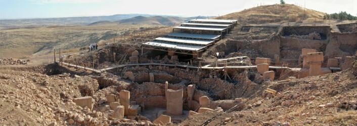 Göbekli Tepe. (Cc-lisens: Attribution-ShareAlike 3.0 Unported Foto: WikimediaCommons/Rolfcosar)