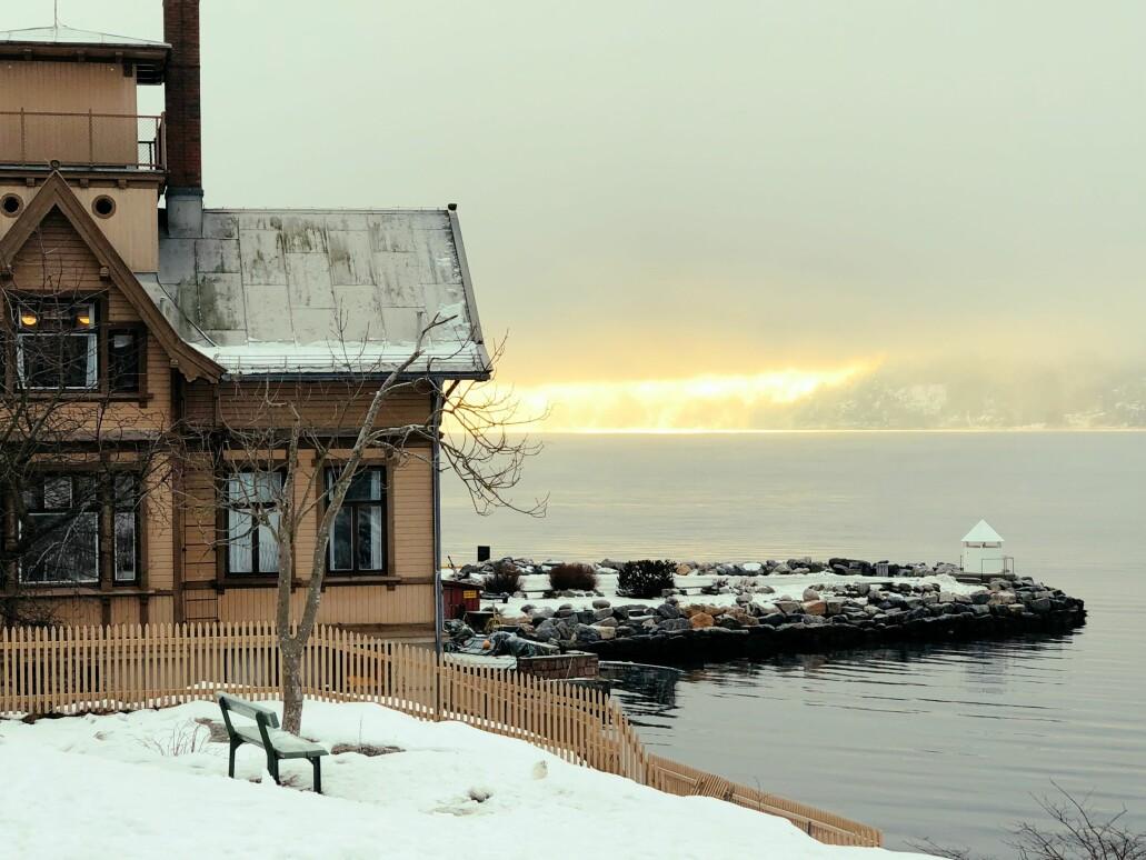 Kystbyen Drøbak i Frogn kommune ligger vakkert til ved Oslofjorden. Om noen år kan hver fjerde innbygger være en eldre person over 70 år. Det samme kan skje i Moss, Larvik, Færder og svært mange distriktskommuner.