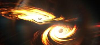 Forskere oppdaget kjempekrasj mellom sorte hull i verdensrommet