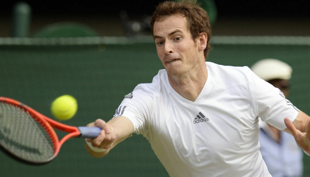 Andy Murray er årets Wimbledon vinner. Colourbox.com