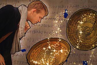 Nils synes magi er skummelt, men han forsker på det likevel