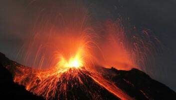 Vulkanutbruddene på Island må ha skremt folk som slo seg ned på øya. Rainer Albiez/Microstock