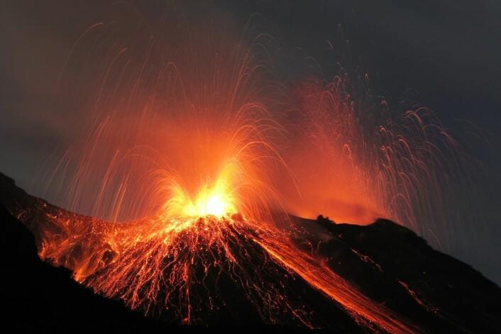 Vulkanutbruddene på Island må ha skremt folk som slo seg ned på øya. (Foto: Rainer Albiez/Microstock)