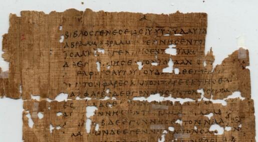 – Apostelen Matteus var ikke kristen, men jødisk