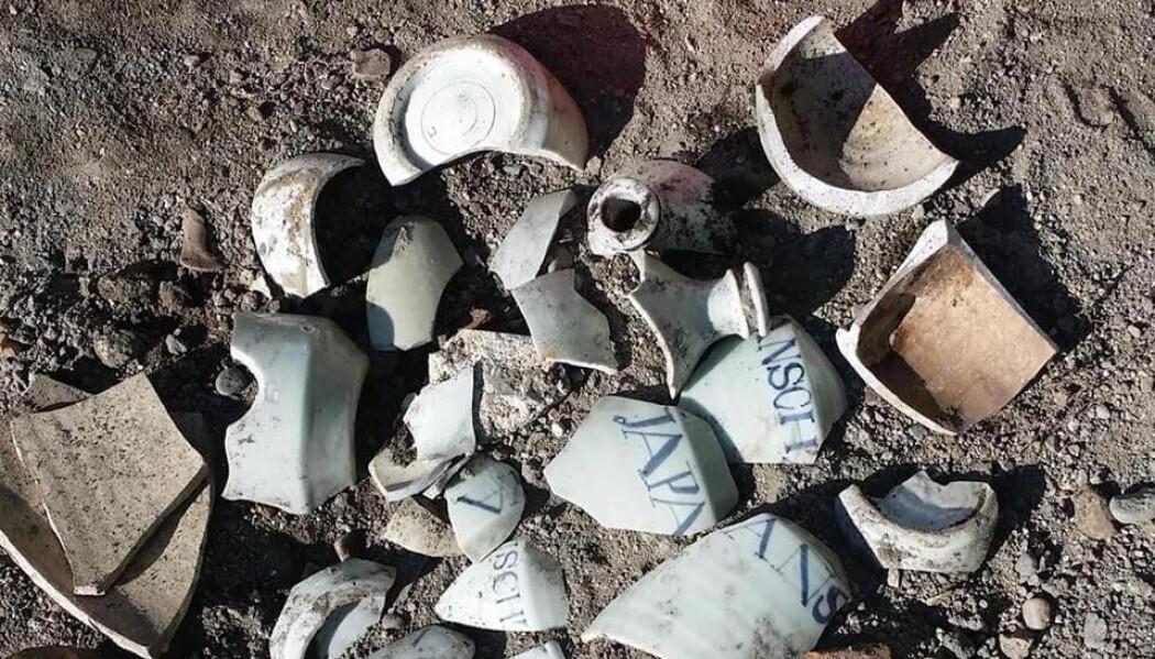 Under utgravningene på Torvet i Trondheim er det funnet over 20 000 keramikkskår. Funnene gir arkeologene mye nyttig informasjon.