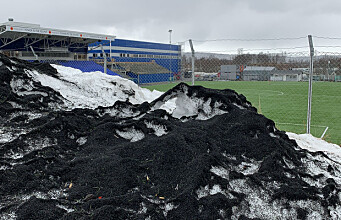 Chemicals from rubber playgrounds and artificial turf pitches pollute the sea