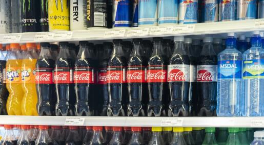 Billigere Pepsi Max og Cola Zero svekket salget av sukkerholdig brus
