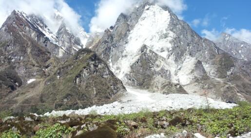 Luftsjokk aukar skadane ved fjellskred