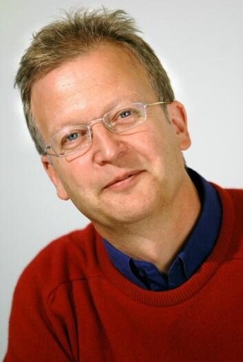 Johan Tønnesson, professor i nordisk språk og litteratur ved UiO. (Foto: Ram Gupta, UiO)
