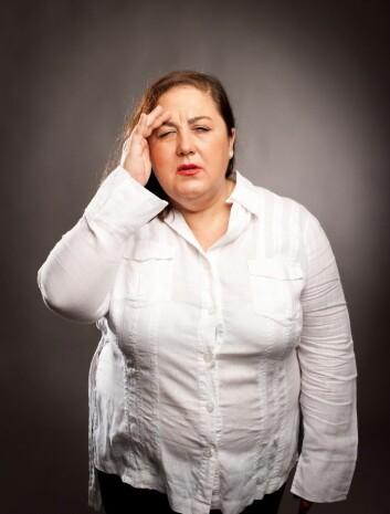 Den alvorleg overvektige må belage seg på å vere på slankekur resten av livet, om personen skal greie å halde vekta nede. (Foto: Microstock)