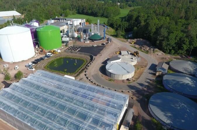Den magiske fabrikken på Sem i Vestfold gjenvinner årlig matavfall fra cirka 1,1 million innbyggere og husdyrgjødsel fra 34 gårdsbruk.