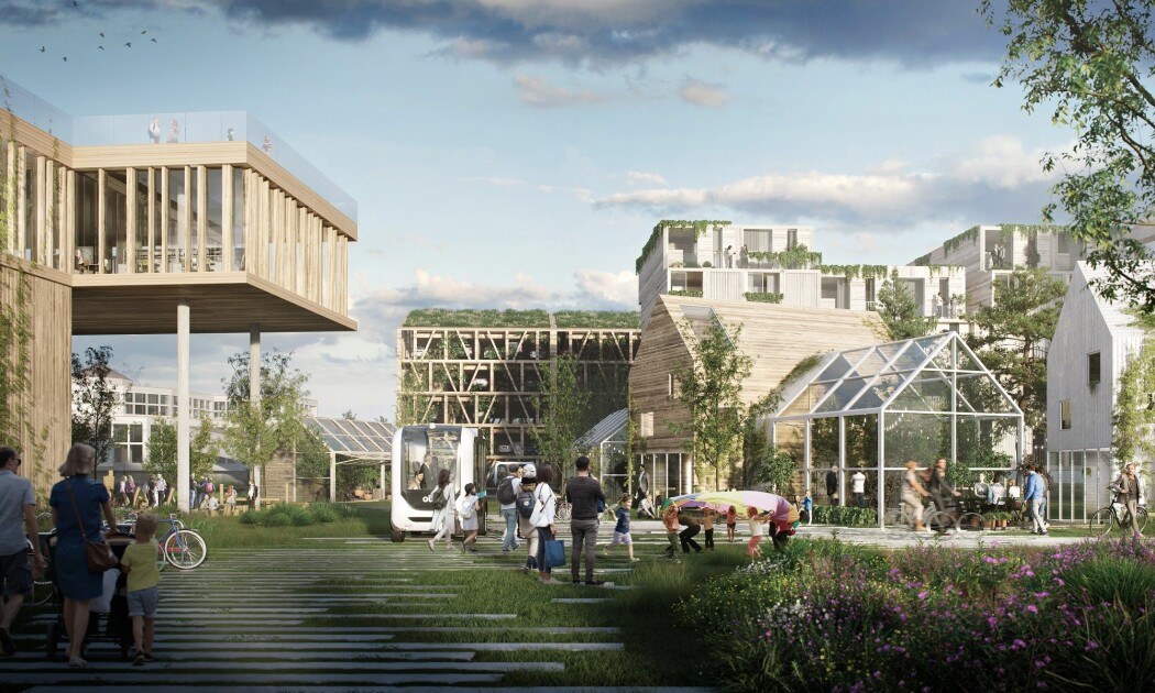 Første byggetrinn i prosjektet «Ny By – Ny Flyplass» i Bodø skal bli et nullutslippsområde og er pilot i forskningssenteret ZEN.