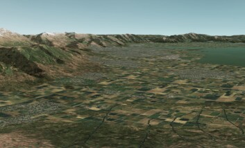 Slik kan landskapet se ut i Missionland. (Foto: Presagis)