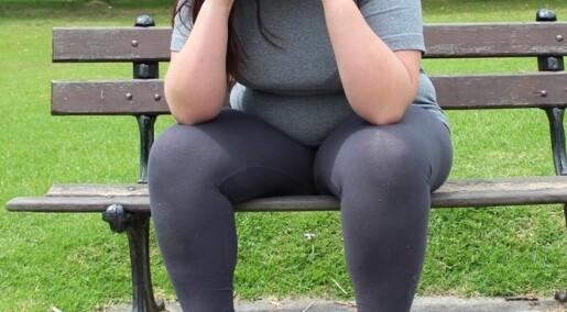 Sjukeleg overvektige som går ned i vekt, opplever fantomfeitt