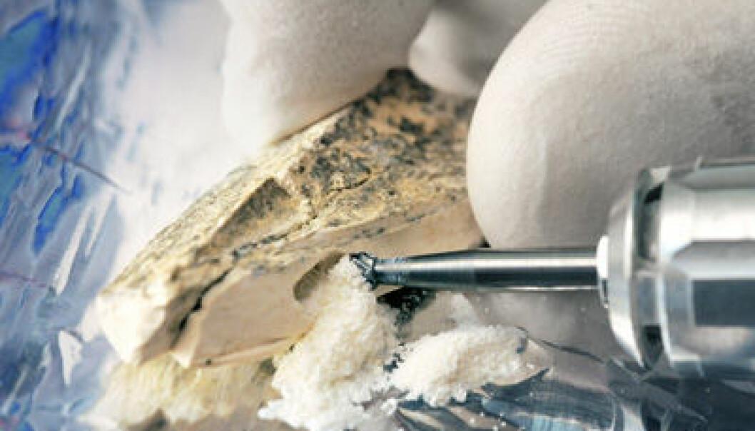 Fossilt DNA. Frank Vinken