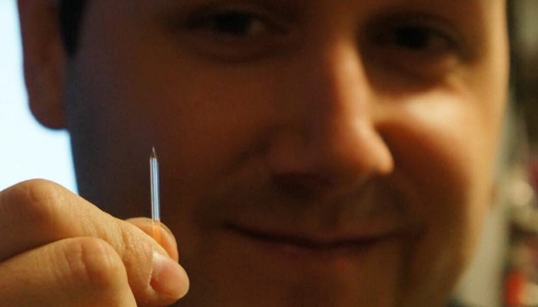 Suger strøm fra mikrokontakter i hjernen