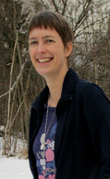 Susanne Buiter forsker på hav ved NGU i Trondheim (Foto: Ida Korneliussen)