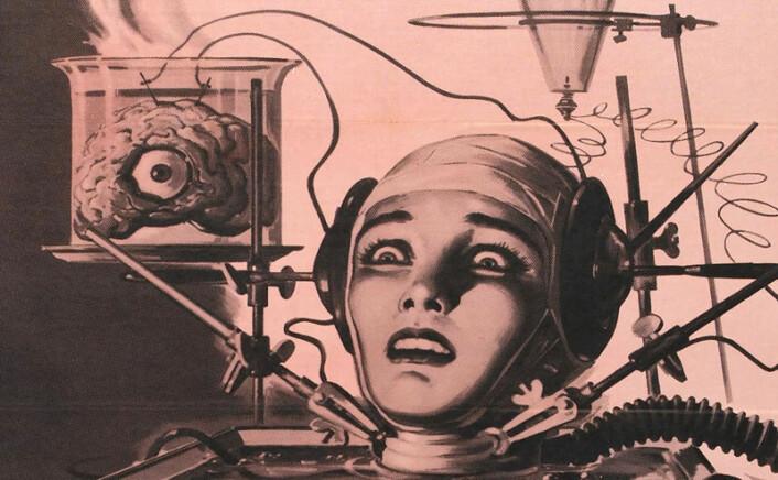 Fra plakaten til filmen The Brain That Wouldn´t Die (1962). (Foto: (Bilde: Wikimedia Commons))