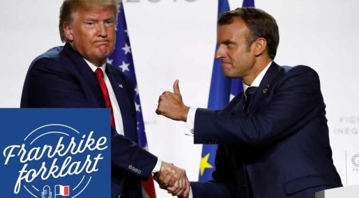 Hvordan er forholdet mellom Frankrike og USA?