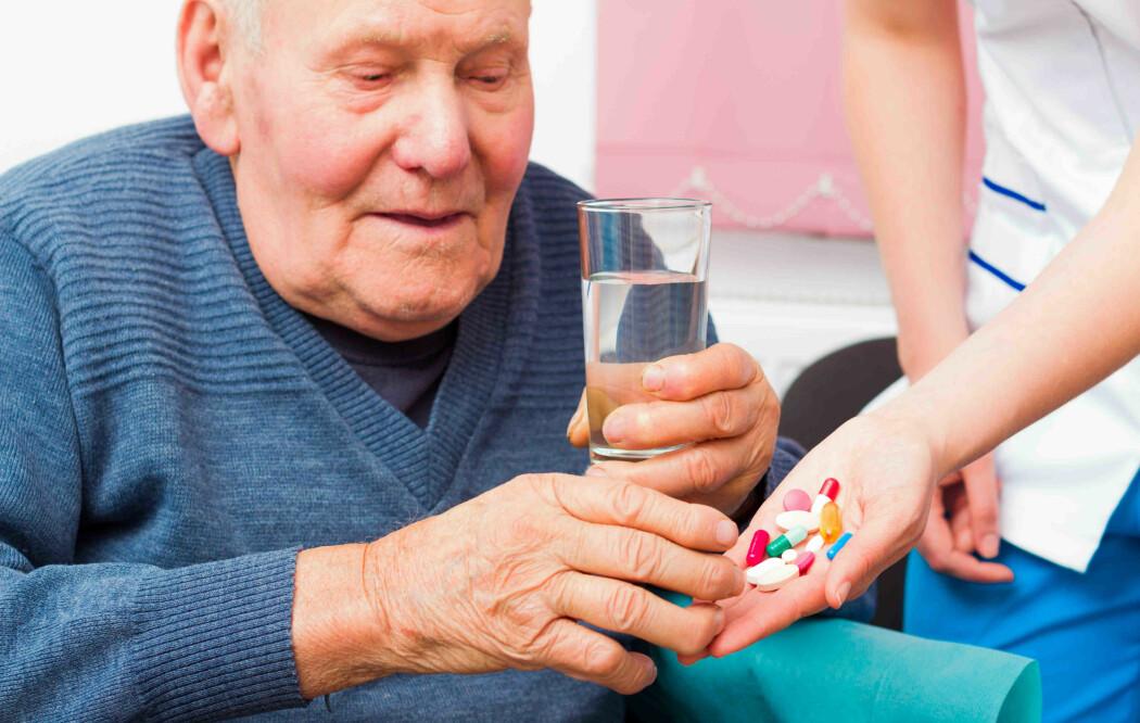 Multidose er legemiddel i porsjonsposar som hjelper eldre og helsepersonell med kontroll på medisinering.