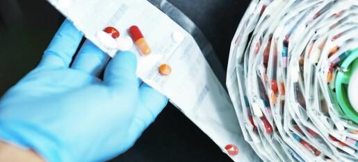 Pasientsikkerhet: ‒ Ordningen med multidoser mangler retningslinjer