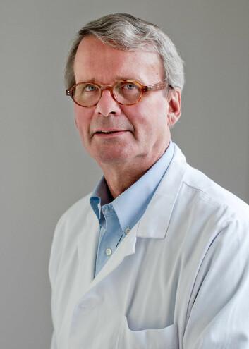 Studien gir mer kunnskap om hvordan føflekkreften utvikler seg, mener forsker Steinar Aamdal, som prøver å utvikle en vaksine mot kreft. (Foto: OUS)