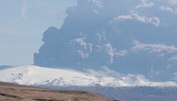 Vulkanutbrudd tvang steinalderjegere på flukt