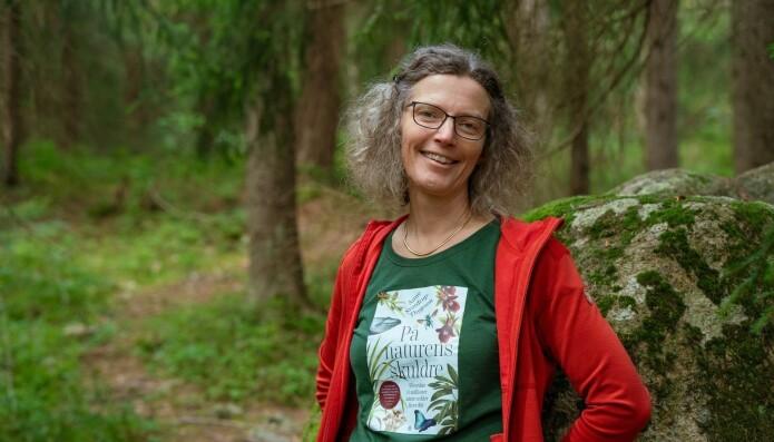 - Vi må passe bedre på naturen, sier Anne Sverdrup-Thygeson. - Vi er så tett knyttet til den og det er så mye fint og fascinerende der. Jeg tenker at om folk bare vet, så blir du engasjert når du får høre disse fortellingene.