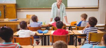 Noen lærere blir lettere utslitt av jobben