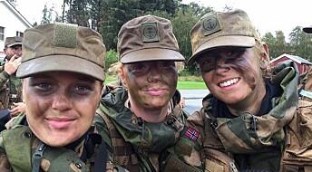 Motivasjon er ferskvare for rekrutter i Forsvaret