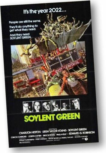 Filmplakat, Soylent Green (Foto: (Bilde: Grandpafootsoldier, Wikimedia Commons))