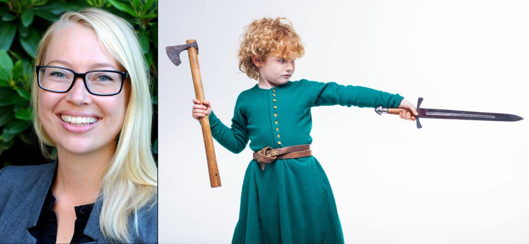 Marianne synes det er viktig å forske på barn. Også på de som levde for to tusen til tusen år siden.